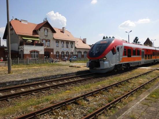 Stacja PKP Więcbork 02. 06. 2018 r. - foto Tomasz Roman Bracka