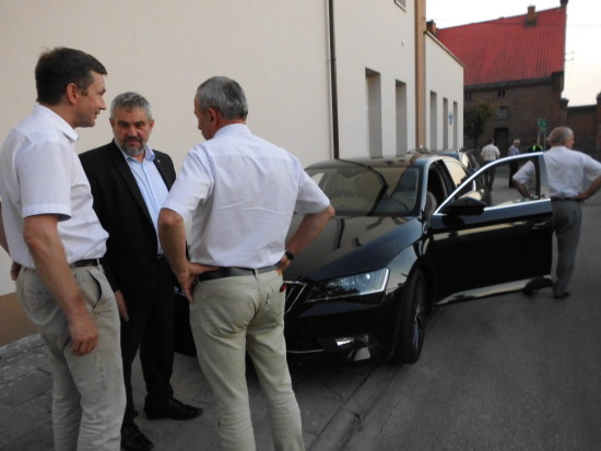 Minister Rolnictwa RP odwiedził dziś Więcborku - foto Tomasz Roman Bracka