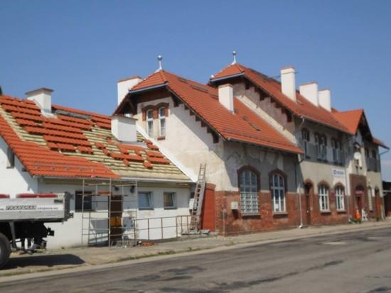 Trwają kolejne prace remontowe na stacji PKP Więcbork i LK 281 - foto Tomasz Roman Bracka