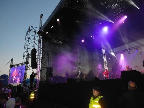 Koncert ,,Pokonaj Nawałnicę'' z zespołem Dżem w Rytlu w rocznicę zeszłorocznej nawałnicy pod moim patronatem i gazety więcborskiej - foto Tomasz Roman Bracka