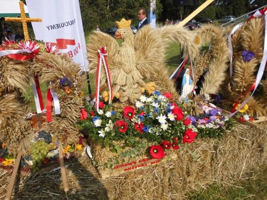 Dożynki Parafialno Gminne w Zabartowie Gmina Więcbork - foto Tomasz Roman Bracka