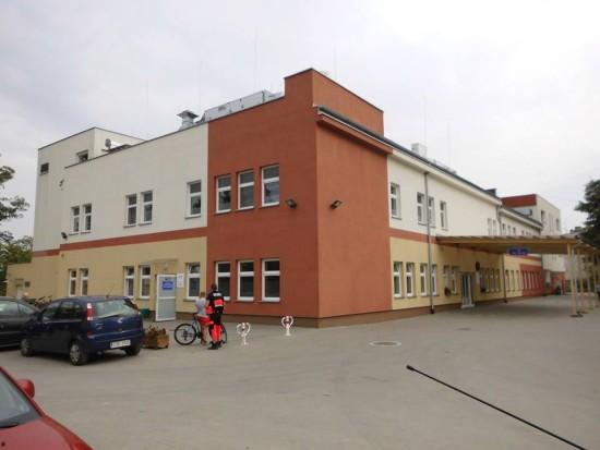 Szpital wWięcborku - foto Tomasz Roman Bracka