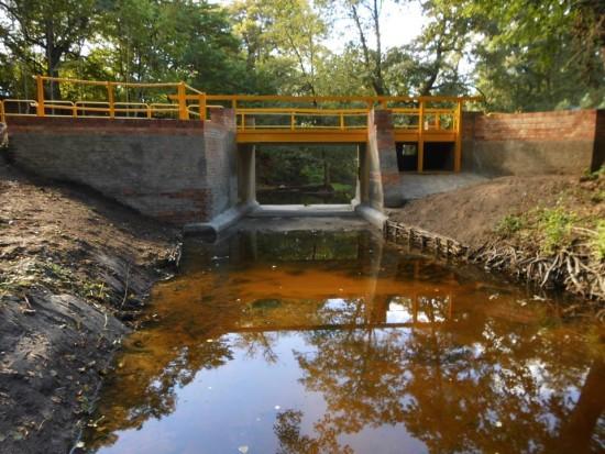 Dobiegł końca remont mostu zwodospadem wRunowie Runowie Młyn wywołany przeze mnie nakazem pokontrolnym WINB Bydgoszcz - Tomasz Roman Bracka