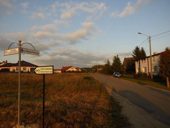 Poniżej dzisiejsze moje zdjęcia z wizytacji ulicy Wojska Polskiego w Więcborku - foto Tomasz Roman Bracka