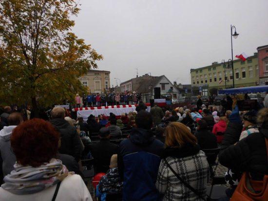 Niech Bóg Błogosławi Wolnej Polsce !!! 100 lat Niepodległej w prezydenckim mieście Więcbork 1918 - 2018 !!! foto Tomasz Roman Bracka