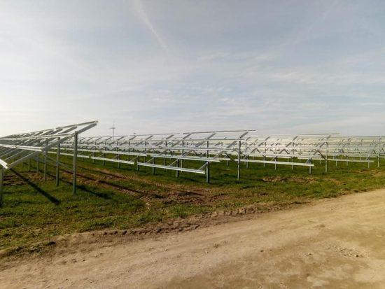 Powstaje nowa farma fotowoltaiczna w Runowie na przedmieściach Więcborka. foto Tomasz Roman Bracka