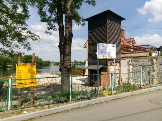 Trwa budowa siedziby KPK w Więcborku - foto Tomasz Roman Bracka