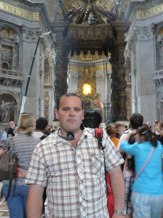 Watykan - pałac papieski i Bazylika Św Piotra — w: Watykan