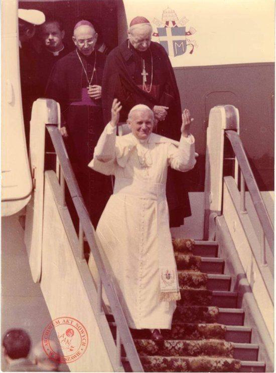 Jan Paweł II w Polsce 40 lat temu - foto Archiwum Akt Nowych