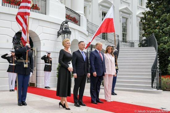 🇵🇱🇺🇸 Wizyta Pary Prezydenckiej w Białym Domu.