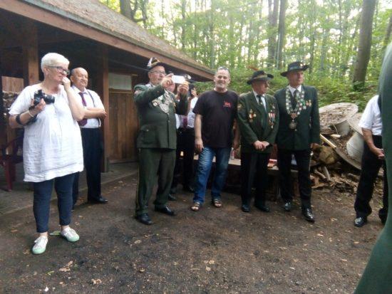 Intronizacja kolejnego króla 287 - letniego Kurkowego Bractwa Strzeleckiego w Więcborku - foto Tomasz Roman Bracka