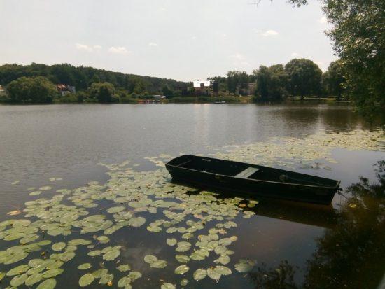 Jezioro więcborskie - forto Tomasz Bracka