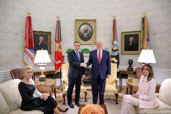 🇵🇱🇺🇸 Rozmowy Par Prezydenckich w Gabinecie Owalnym @WhiteHouse #PADwUSA foto Jakub Szymczyk KPRP