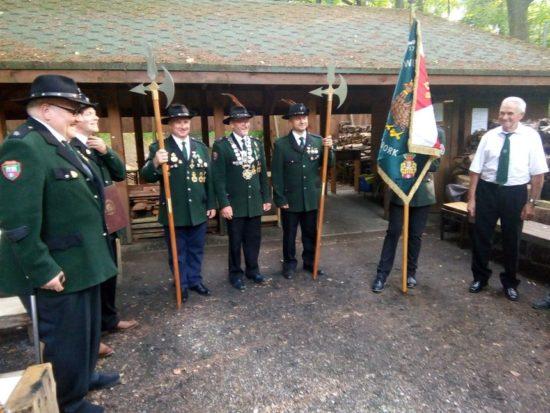 intronizacja kolejnego króla 287 - letniego Kurkowego Bractwa Strzeleckiego w Więcborku