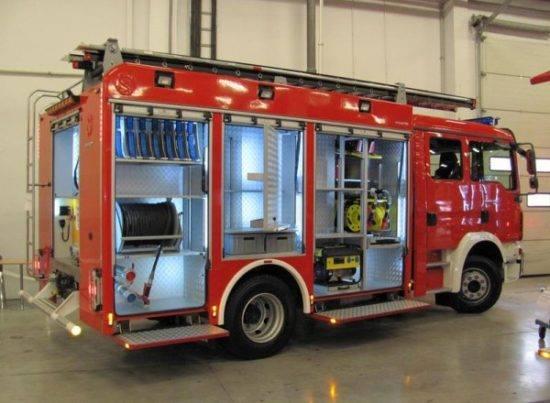 Właśnie taki fabrycznie nowy średni samochód ratowniczo – gaśniczy z napędem 4×4 trafi niebawem do Straży Pożarnej w Więcborku - Tomasz Roman Bracka