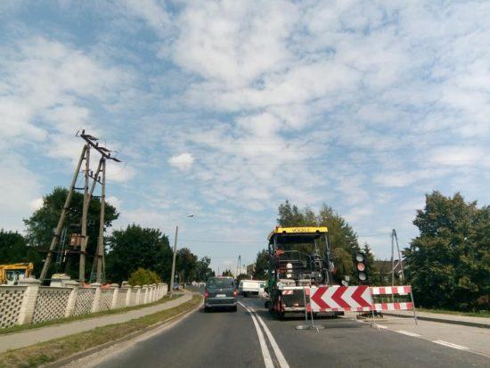 Dobiega końca budowa kanalizacji ściekowej na DW 241 przy ul. Wyzwolenia w Więcborku i na ul. 28 Stycznia - foto Tomasz Roman Bracka