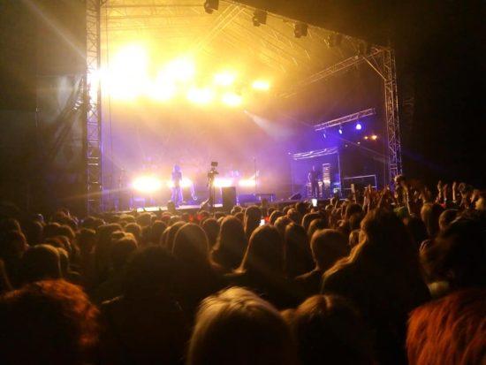 Zakończył się koncert Dawida Kwiatkowskiego w Więcborku, a wraz z nim tegoroczne Dni Więcborka - foto Tomasz Roman Bracka