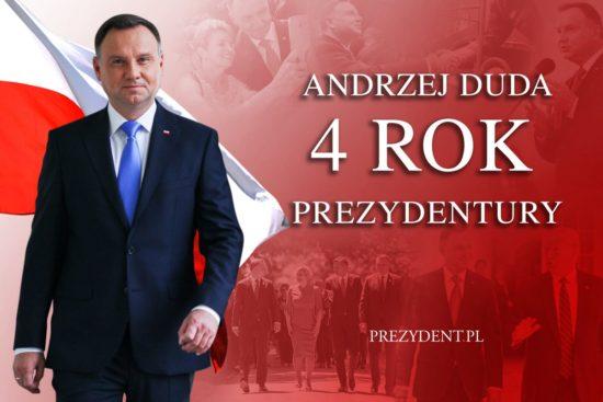 Podsumowanie czwartego roku prezydentury @AndrzejDuda http://bit.ly/4rokPAD