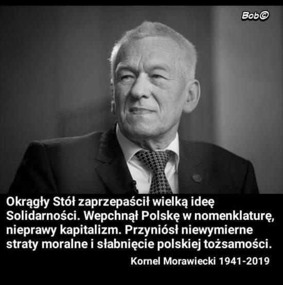 Kornel Morawiecki 1941 - 2019 r.