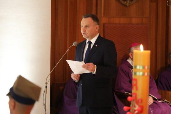 Pogrzeb Państwowy śp Kornela Morawieckiego z udziałem Prezydenta RP Andrzeja Dudy