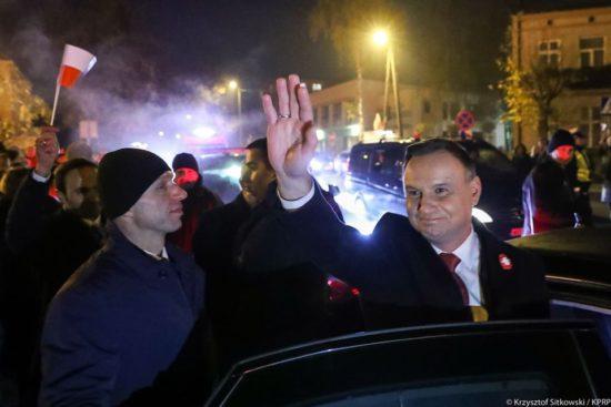 Prezydent Andrzej Duda w Rypinie 11. 11. 2019 r. - Tomasz Roman Bracka