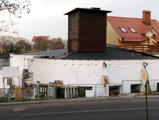 Dobiega budowa nowej siedziby Krajeńskiego Parku Krajobrazowego w Więcborku - foto Tomasz Roman