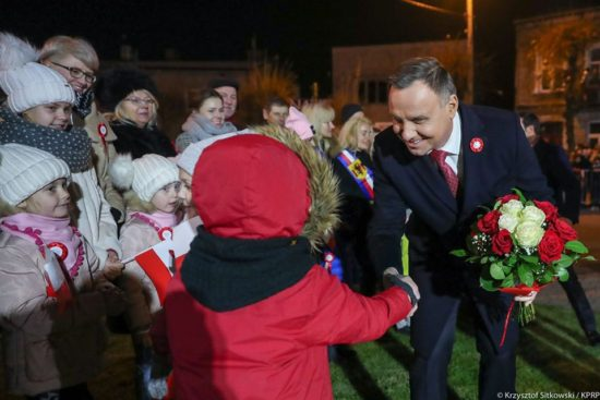 Prezydent Andrzej Duda w Rypinie 11. 11. 2019 r. – Tomasz Roman Bracka