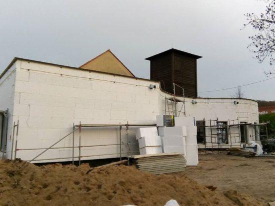 Dobiega budowa nowej siedziby Krajeńskiego Parku Krajobrazowego w Więcborku - foto Tomasz Roman Bracka