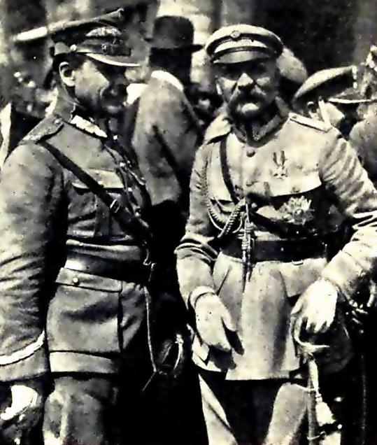 Marszałek Józef Piłsudski i Generał Józef Haller