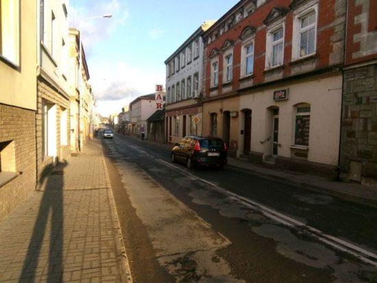 Ulice Gen. J. Hallera i Wyzwolenia w Więcborku zostaną zgazyfikowane i przebudowane - foto Tomasz Roman Bracka