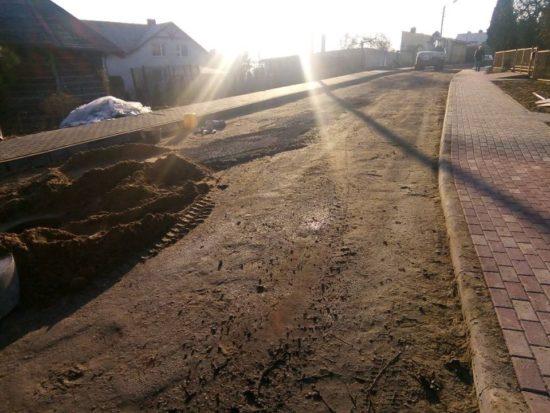 Trwa przebudowa ulicy Słonecznej w Więcborku