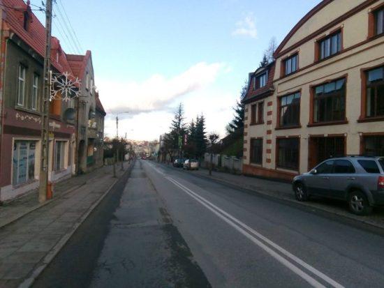 Ulice Gen. J. Hallera i Wyzwolenia w Więcborku zostaną zgazyfikowane i przebudowane- foto Tomasz Roman Bracka