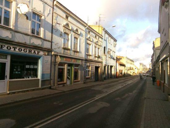 Ulice Gen. J. Hallera iWyzwolenia wWięcborku zostaną zgazyfikowane iprzebudowane - foto Tomasz Roman Bracka