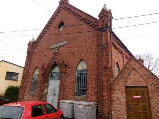 Kościół Ewangelicki wWięcborku przy ul.Rybackiej - foto Tomasz Roman Bracka