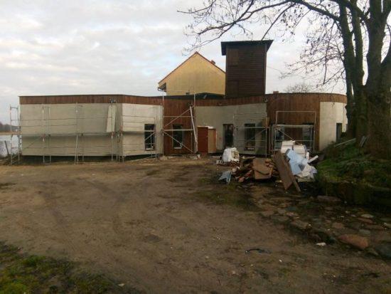 Dobiega końca budowa nowej siedziby Krajeńskiego Parku Krajobrazowego w Więcborku - foto Tomasz Roman Bracka