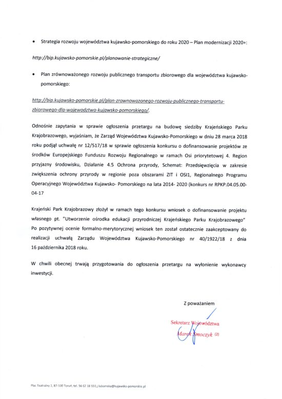 Trzy warianty przebiegu wywalczonej przeze mnie w 2017 r. obwodnicy Więcborka  w UM Toruń i ZDW Bydgoszcz - Tomasz Roman Bracka