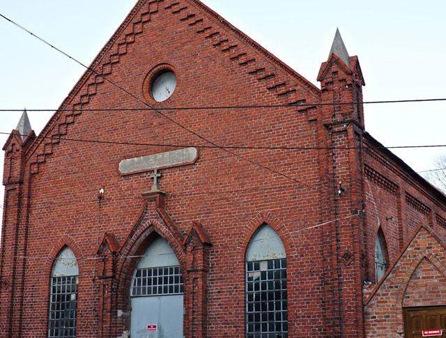 Kościół Ewangelicki w Więcborku przy ul. Rybackiej - foto Tomasz Roman Bracka