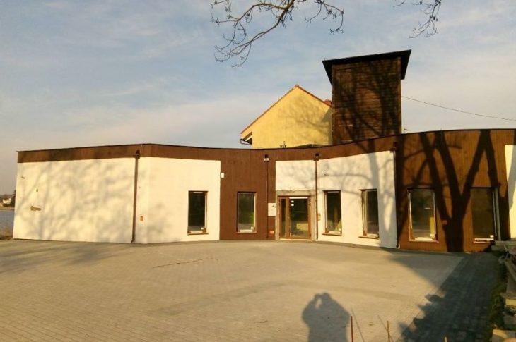 Dobiega końca budowa nowa siedziba Krajeńskiego Parku Krajobrazowego w Więcborku - foto Tomasz Roman Bracka