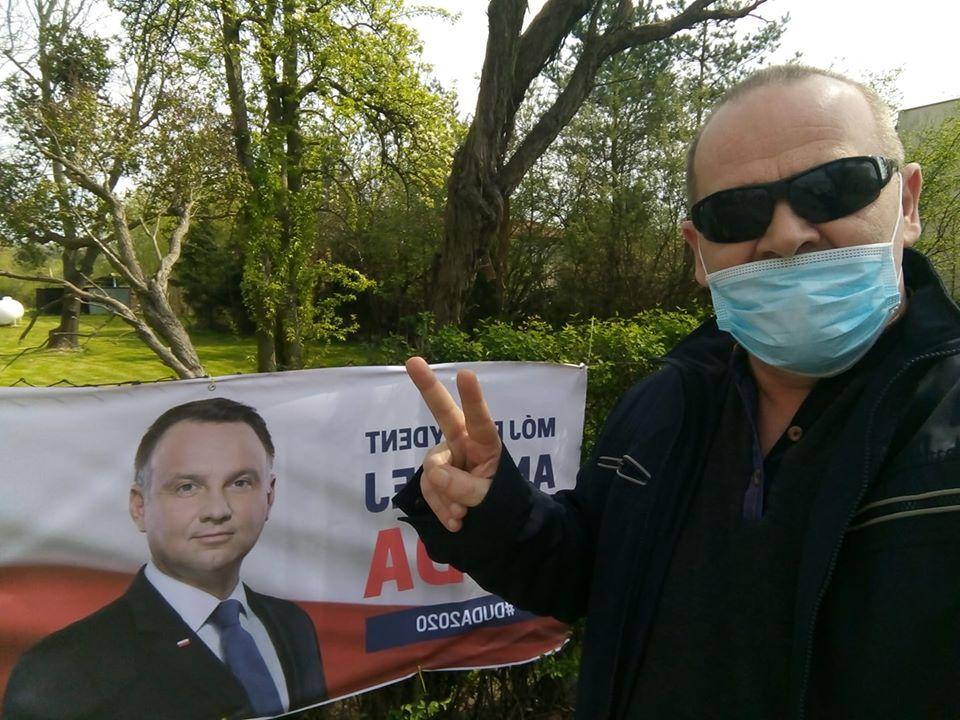 Wybory Prezydenckie 2020 r - Tomasz Roman Bracka