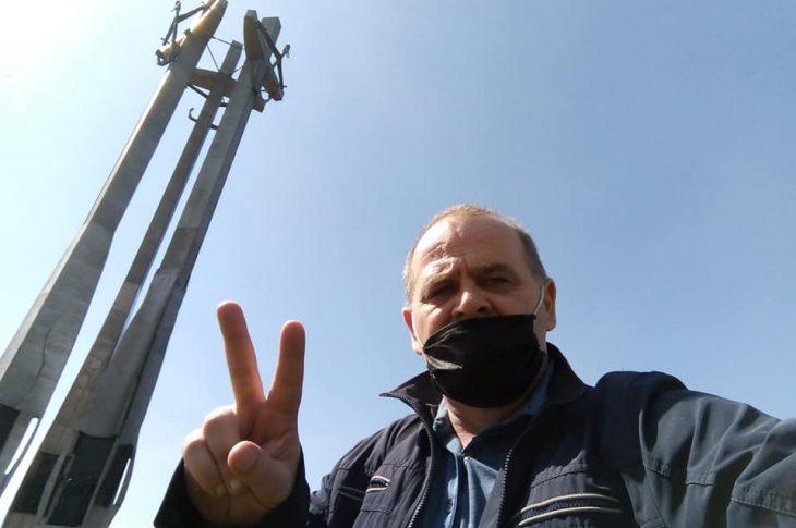 Nareszcie w domu wolności i Solidarności w Gdańsku 40 lat minęło - 27. 05. 2020 r. pozdrawiam Tomasz Roman Bracka