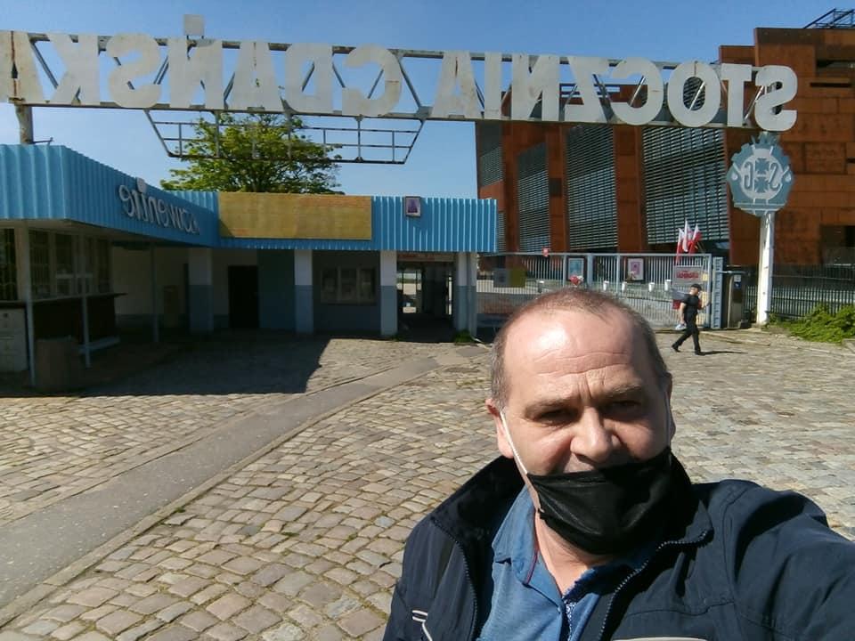 Nareszcie wdomu wolności iSolidarności wGdańsku 40 lat minęło - 27. 05. 2020 r. pozdrawiam Tomasz Roman Bracka
