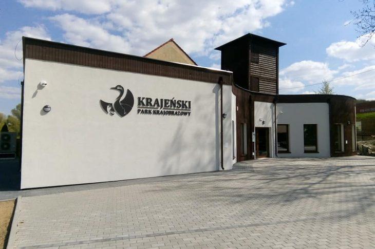 Nowa siedziba Krajeńskiego Parku Krajobrazowego w Więcborku o którą skutecznie zabiegałem w UM w Toruniu została wybudowana - foto Tomasz Roman Bracka