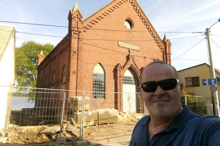 Trwa przebudowa zabytkowego 200 letniego kościoła ewangelickiego w Więcborku na centrum aktywizacji seniora - foto Tomasz Roman Bracka