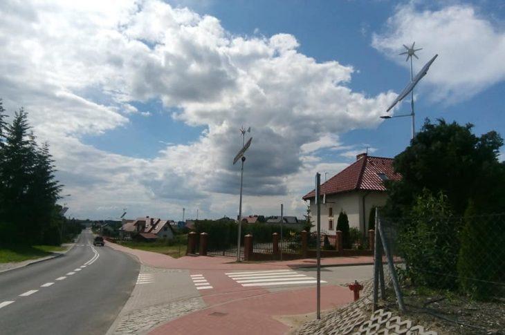 Ulica Wojska Polskiego w Więcborku przebudowana - foto Tomasz Roman Bracka