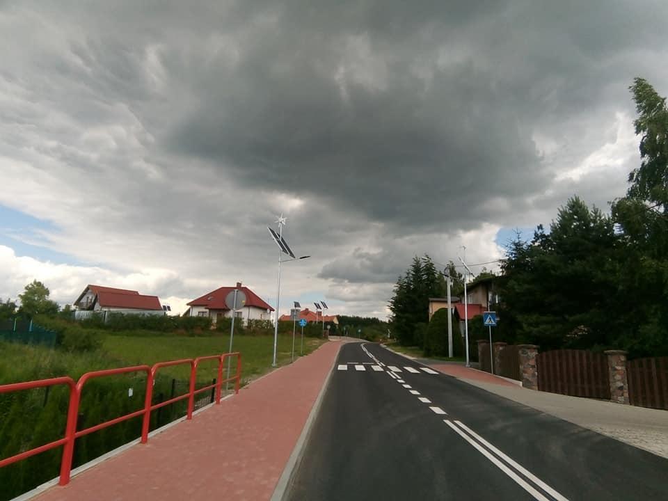 Ulica Wojska Polskiego wWięcborku przebudowana - foto Tomasz Roman Bracka