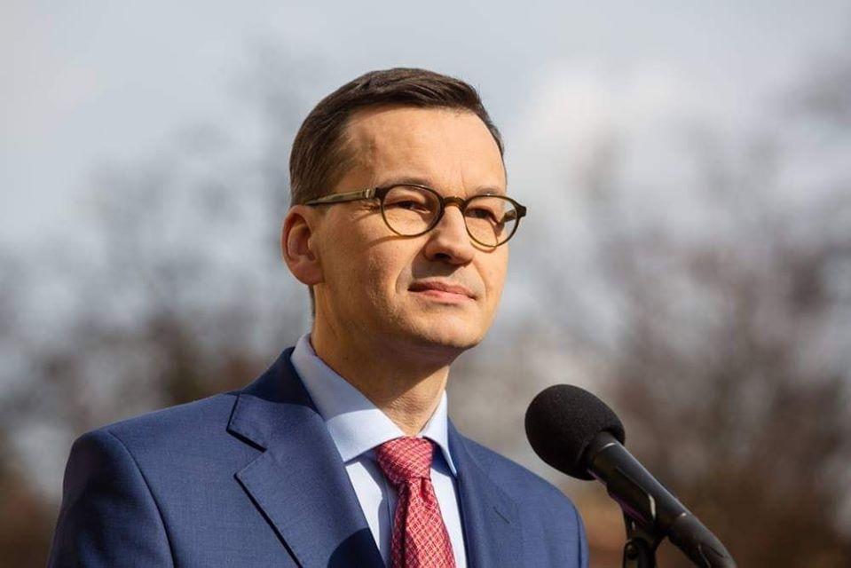 Premier Polski Mateusz Morawiecki w poniedziałek z oficjalną wizytą w Więcborku, nie z władzami, a z zwykłymi mieszkańcami ! Niech żyje Polska - Tomasz Roman Bracka