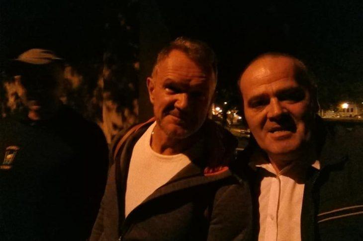 Cezary Pazura z kabareciarzami wystąpił wczoraj na więcborskiej Promenadzie - Tomasz Roman Bracka