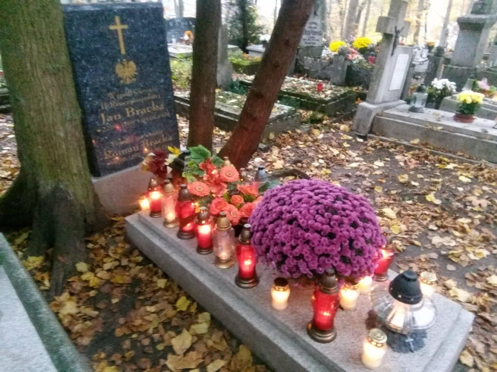 Jan Bracka najwybitniejsza postać stulecia odzyskania przezprezydenckie miasto Więcbork niepodległości - foto Tomasz Roman Bracka