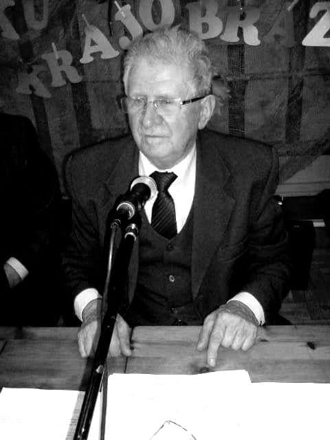 Na zdjęciu Przewodniczący RM wWięcborku śp Józef Kujawiak. foto Tomasz Roman Bracka