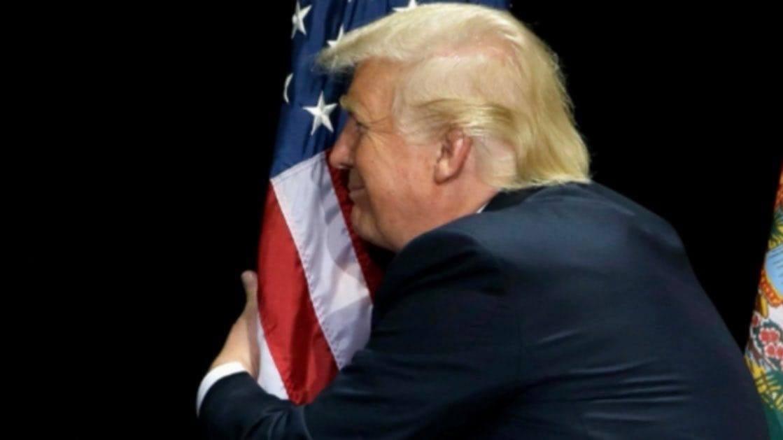 Dziękuję Panie Prezydencie Donaldzie Trump zawspaniałą iowocną prezydenturę jakiej USA dotąd niemiały - Tomasz Roman Bracka